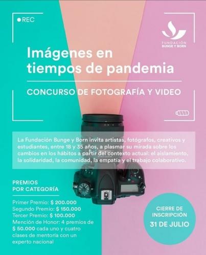 Concurso de Fotografía en Tiempos de Pandemia